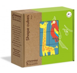 16228 SHAPES CUBES ANIMALS