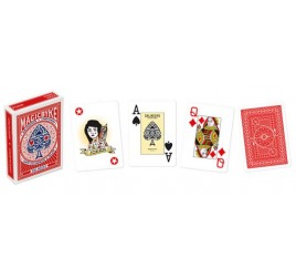 021056 POKER MAGIC BIKE CARTE ROSSA
