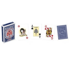 021057 POKER MAGIC BIKE CARTE BLU