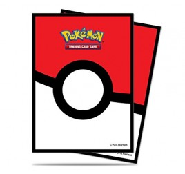 85120 POKEMON PROTEGGI CARTE 65 BUST. POKEBALL