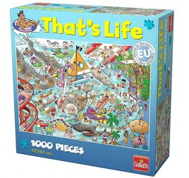 371418 PUZZLE THAT'S LIFE WATER WORLD 1000 PZ.