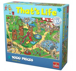 371419 PUZZLE THAT'S LIFE PLAYGROUND 1000 PZ.