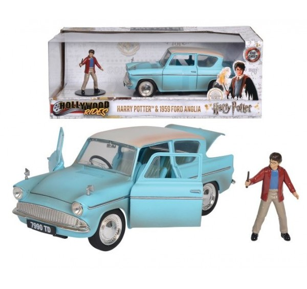 3185002 HARRY POTTER FORD ANGLIA 1:24
