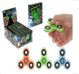 549074 WHIRLERZ FIDGET FINGER GLOW IN THE DARK