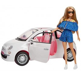 FVR07 BARBIE C/FIAT 500