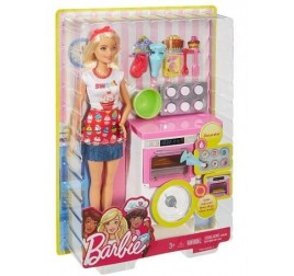 FHP57 BARBIE PASTICCERIA PLAY SET