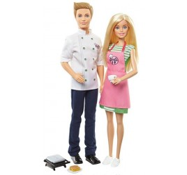 FHP64 BARBIE E KEN CAFE'