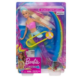 GFL82 BARBIE SIRENA LUCI BRILLANTI