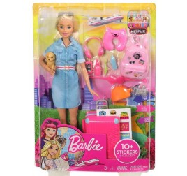 FWV25 BARBIE TRAVEL