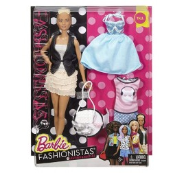 DTF07 BARBIE FASHIONISTAS LEATHER