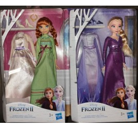 E5500 FROZEN 2 FASHION DOLL + EXTRA VESTITO