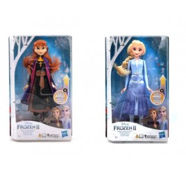 E6952 FROZEN 2 FASHION DOLL VESTITO LUMINOSO