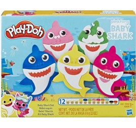 E8141 PLAY DOH BABY SHARK SET