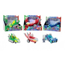 PJM44000 PJ MASKS VEICOLI ASS. TURBOB.