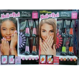 GEN07000 GEL A PEEL NAIL KIT A TEMA