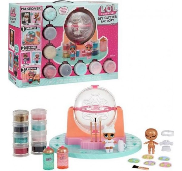 LLU68000 LOL DIY GLITTER FACTORY