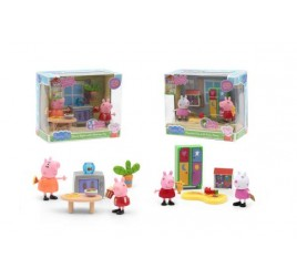 PPC43000 PEPPA PIG STANZE MINI PLAYSET