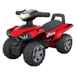 100050226 RIDE ON QUAD GOOD YEAR ROSSO