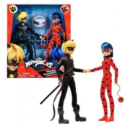 21737856 MIRACULOUS DOLL CM.26 2 PACK