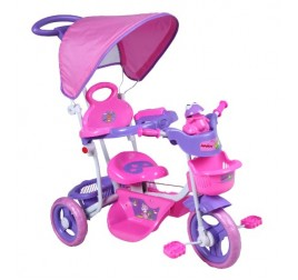 ODG930 TRICICLO BABY BUBU ROSA