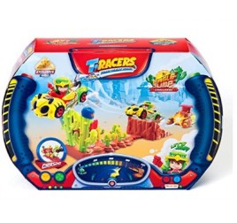 PTRSD014IN00 T-RACERS PLAYSET EAGLE JUMP