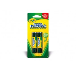 56-1129 BL.2 COLLA STICK CRAYOLA