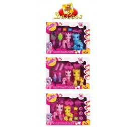 43965 SET 2 MINI UNICORNI