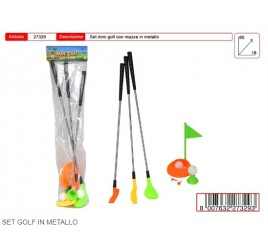27329 SET GOLF METALLO