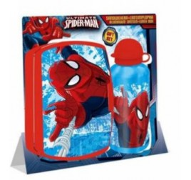 KD37 PORTA MERENDA E BORRACCIA SPIDERMAN