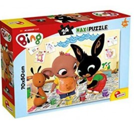81202 BING PUZZLE MAXI 24 PZ. ART ATTACK