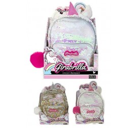 02530 GIRABRILLA UNICORN BACKPACK