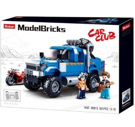 B0813 MODELBRICKS SAFARI F350