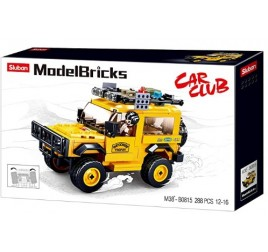 B0815 MODELBRICKS DEFENDER GIALLO
