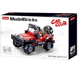 B0816 MODELBRICKS JEEP ROSSA