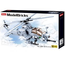 B0838 MODELBRICKS ATTACK HELICOPTER