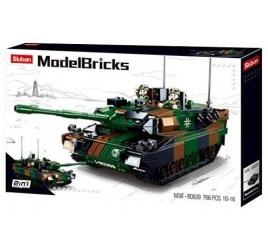 B0839 MODELBRICKS BATTLE TANK 2 IN 1
