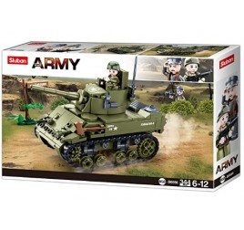 B0856 MODELBRICKS WWII M5 LIGHT TANK