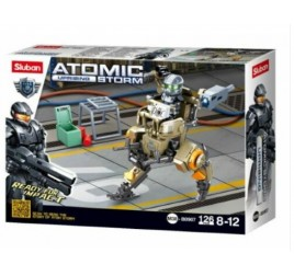 B0907 MODELBRICKS ATOMIC STORM ARMED
