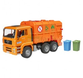 02760 MAN TGA GARBAGE TRUCK ORANGE
