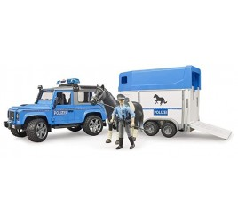 02588 LAND ROVER DEFENDER POLIZIA