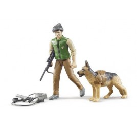 62660 GUARDIA FORESTALE C/CANE