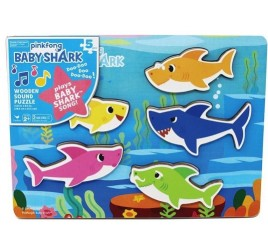 6054918 BABY SHARK PUZZLE IN LEGNO