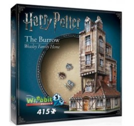 1011 PUZZLE 3D HARRY POTTER CASA BURROW