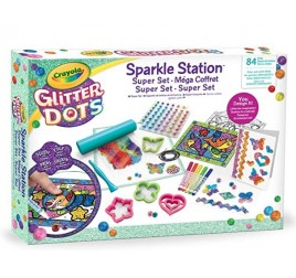 04-1085 GLITTER DOTS SPARKLE STATION DLX