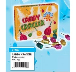 0123AX CANDY CRACKER  BAG 25 PZ. - F1